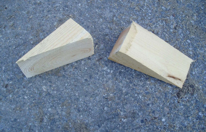 Holzkeile